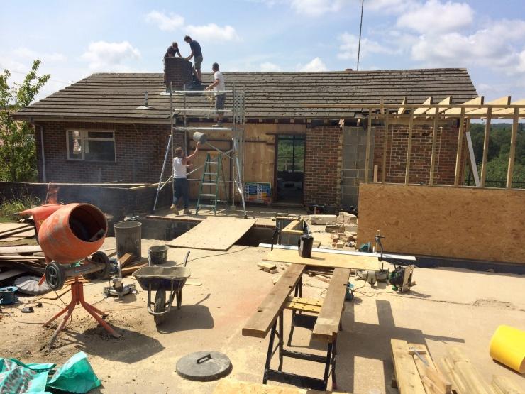 20140731 Chimney Removal