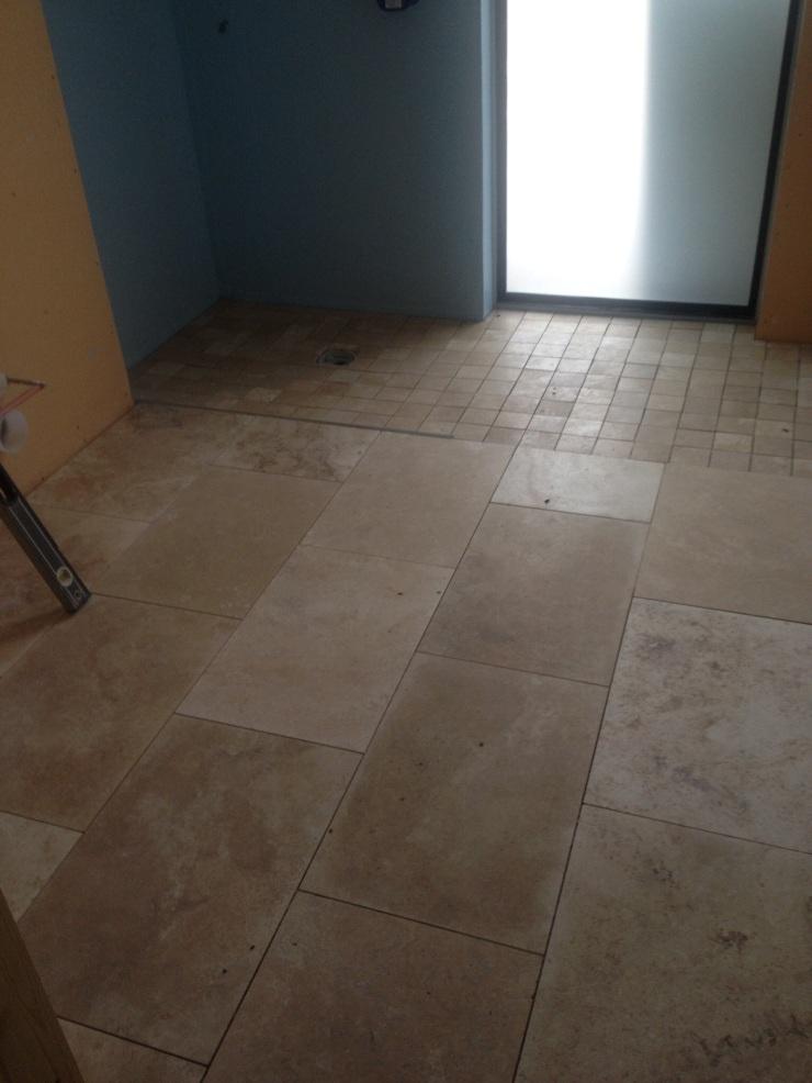 20141024 Shower Room Floor